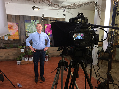 set for Proven Winners video
