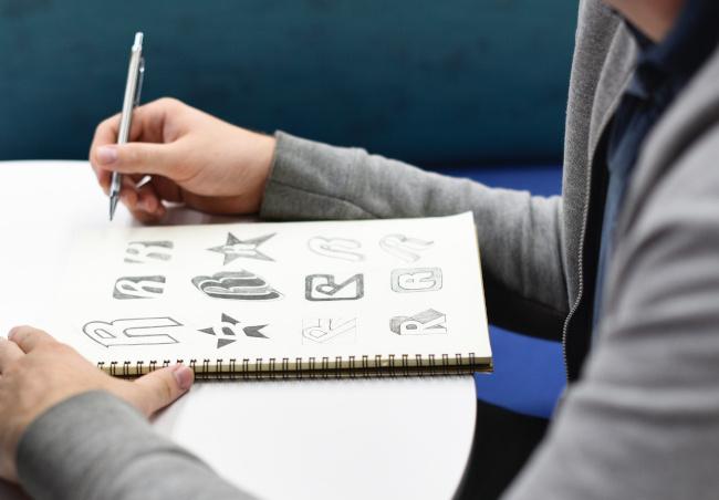 man doodles handmade content