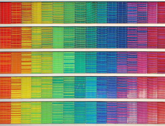 color frequency chart