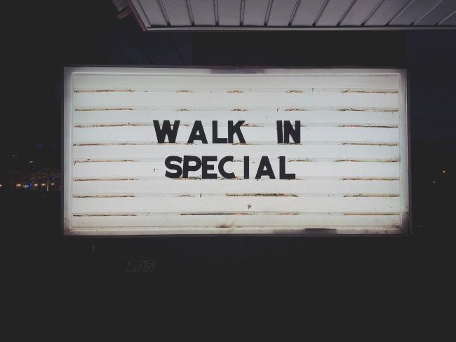 special offer slider